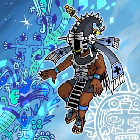 Thần băng giá và mùa đông Itztlacoliuhqui