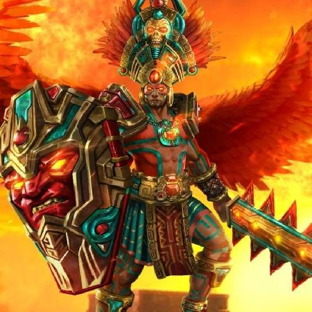 Thần mặt trời Kinich Ahau