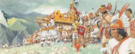 Các vị thần trong thần thoại Inca