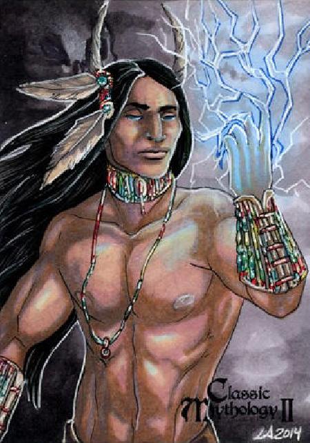 Tinh linh của bão tố Iya trong thần thoại Lakota
