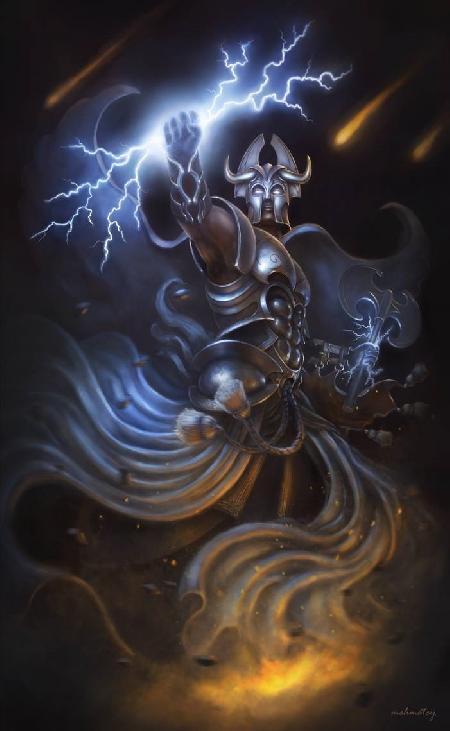 Vị thần bão tố Teshub của người Hittites và người Hurrians