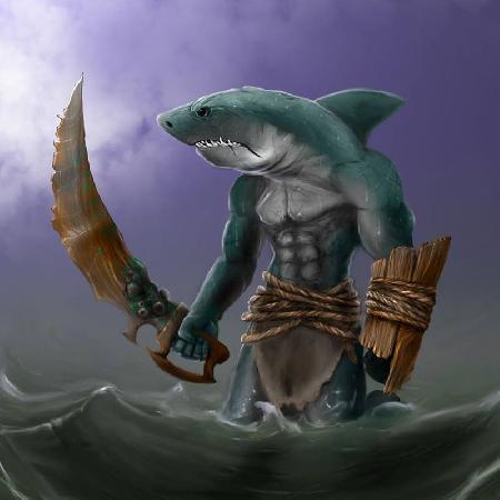 Thần cá mập Kamohoali`li