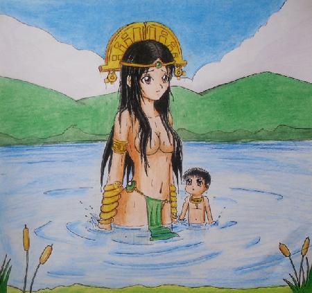 Muisca - nữ thần thủy tổ của người Muisca