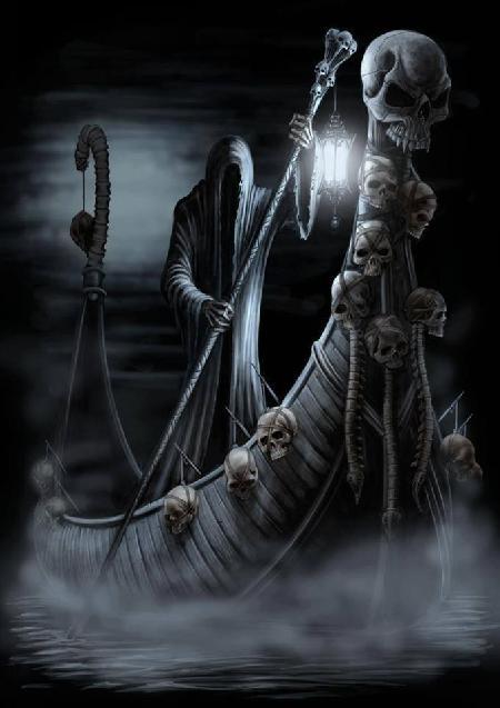Charon - người lái đò linh hồn người chết