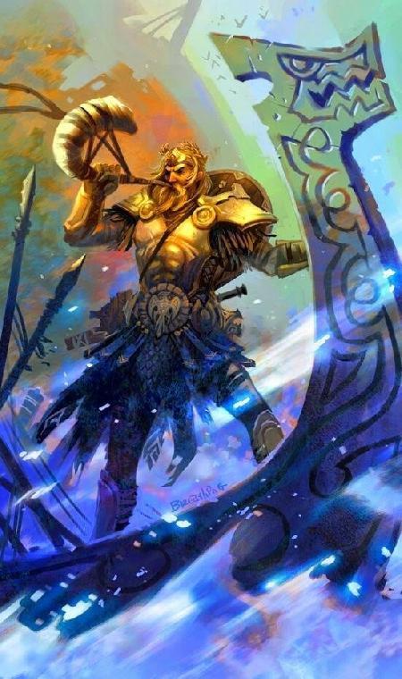 Heimdall - thần canh giữ chiếc cầu vồng Bifröst