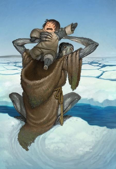 Qalupalik một dạng ông ba bị của người Inuit