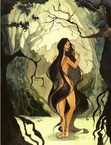Nữ quái Xtapay của Maya