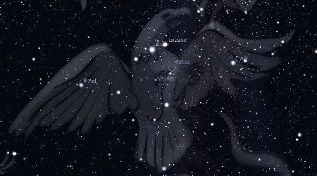 Chòm sao Aquila - Thiên Ưng