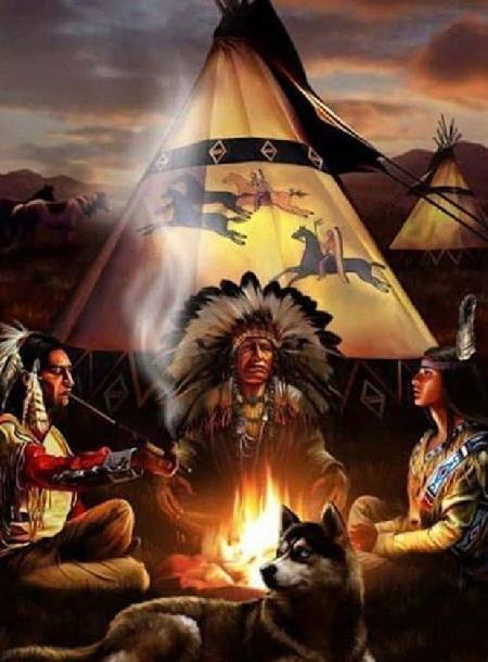 Con nhện nước đem lửa của các Ani Hyuntikwalaski về cho con người - thần thoại người Cherokee