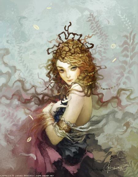 Hoàng hậu của đại dương Amphitrite