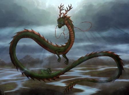 Imoogi - loài rồng Hàn Quốc