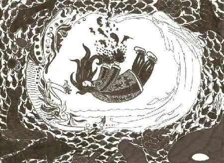 Nữ thần biển Sadne của người Inuit