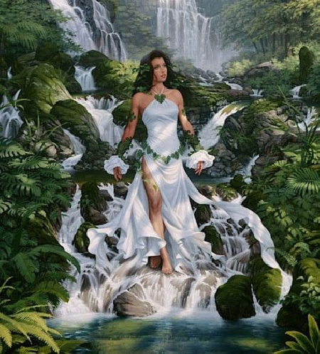 Nữ thần của tình yêu và nước ngọt Astghik