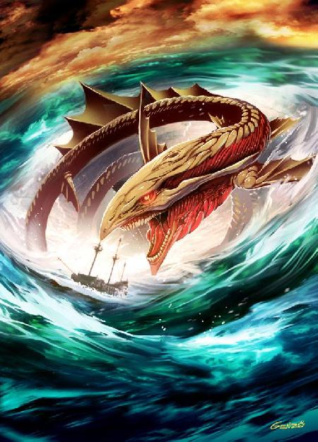 Thủy quái Charybdis