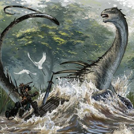 Sinh vật huyền bí Mokele-Mbembe - thủy quái hồ Loch Ness ở Châu Phi