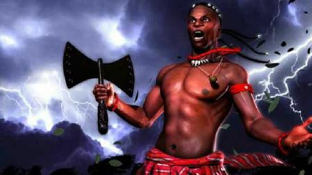 Thần công lý Amadioha ở Tây Phi