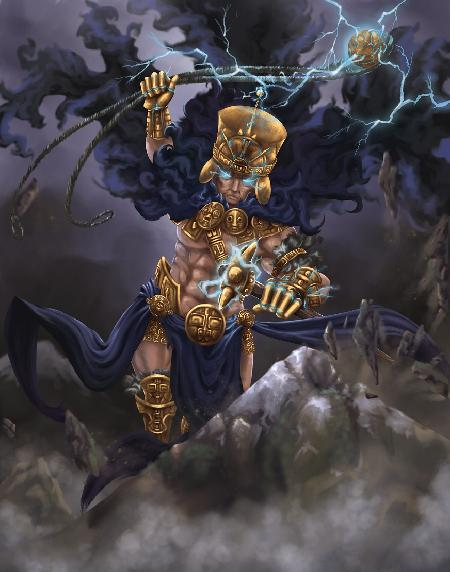 Illapa - thần sấm sét của người Inca