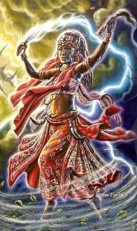 Oya - Nữ thần gió bão của Yoruba