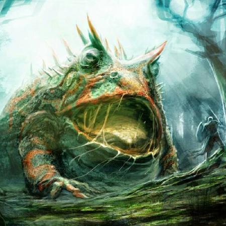 Con ếch khổng lồ Tiddalik