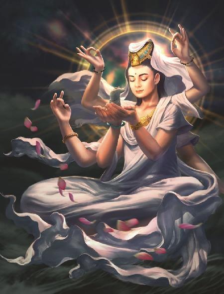 Bồ Tát Guan Yin - Đấng quán chiếu âm thanh của thế gian