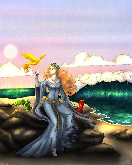 Cliona - Nữ thần tình yêu, sắc đẹp và cũng là diêm vương của Celtic