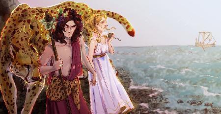 Câu chuyện tình của Dionysus và Adriadne