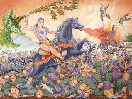 Danh tướng Hùng Linh Công thời Hùng Vương thứ VI