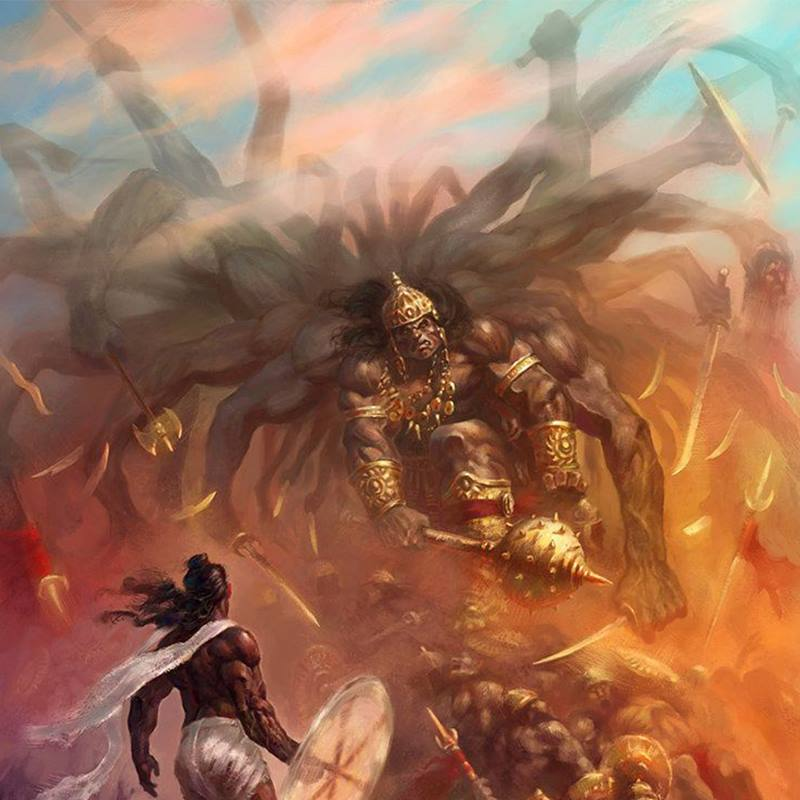 Những Asura mạnh nhất trong thần thoại Hindu