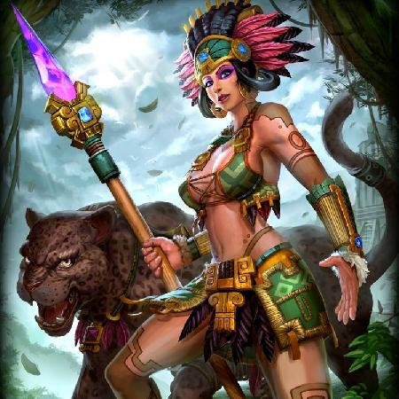 Nữ thần mặt trăng Ixchel và phong tục lột da hiến tế