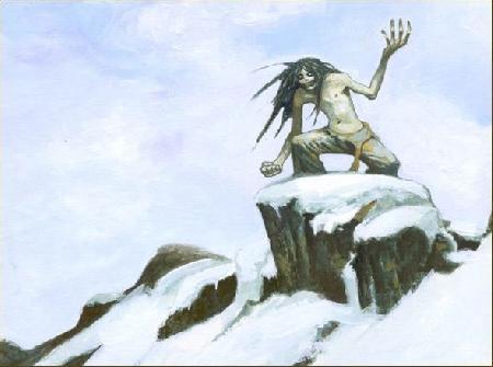Mahaha con quỷ trong truyền thuyết người Eskimo