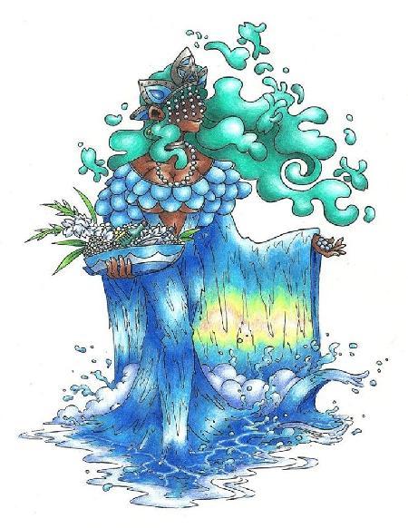 Sự ra đời các vị thần trẻ của Yoruba