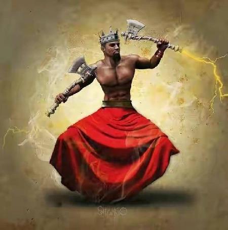 Cagn vị thần tối cao của dân tộc San - Nam Phi
