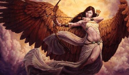 Các vị thần Hermes, Artemis và Ares