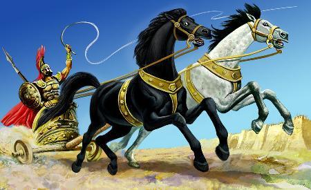 Đôi thần mã biết nói Balius và Xanthus bất tử