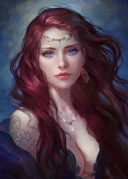 Thalia một nữ thần Charites của lễ hội