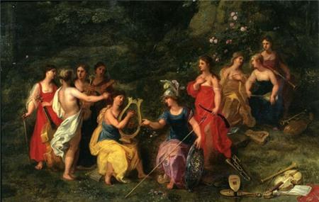 Huyền thoại về 9 nữ thần Muses xinh đẹp