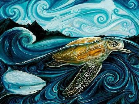 Sự tích con rùa hay vì sao rùa luôn đem theo chiếc mai bên mình?