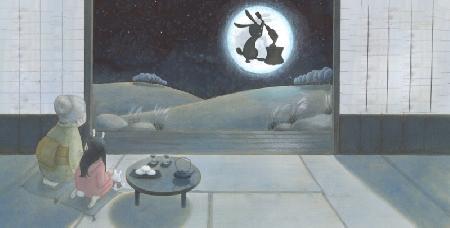 Sự tích Thỏ ngọc giã bánh Mochi trên cung trăng - Sự tích Trung Thu