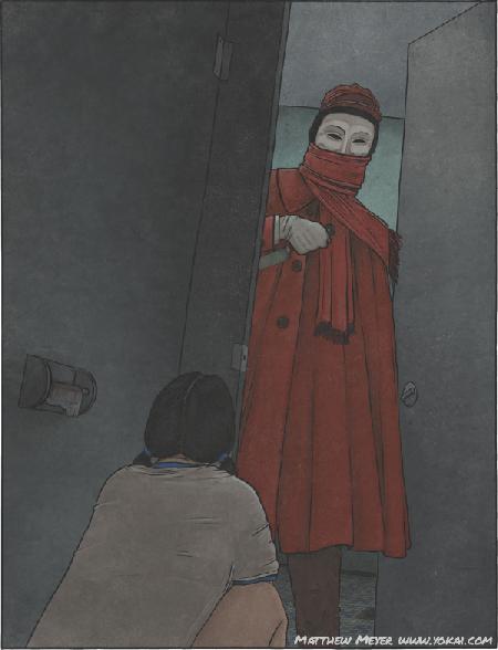 Aka Manto - con ma biến thái ám trong các toilet nữ
