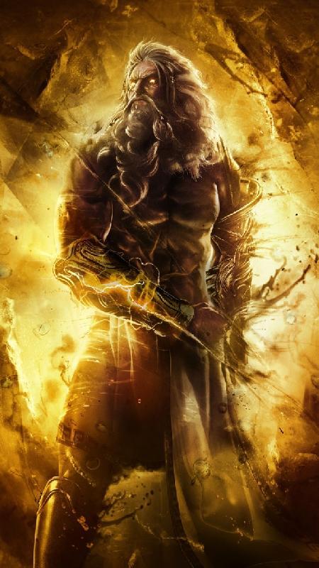 Titan Hyperion của ánh sáng bầu trời