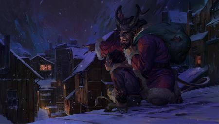 Ác mộng đêm Giáng sinh - quỷ dữ Krampus