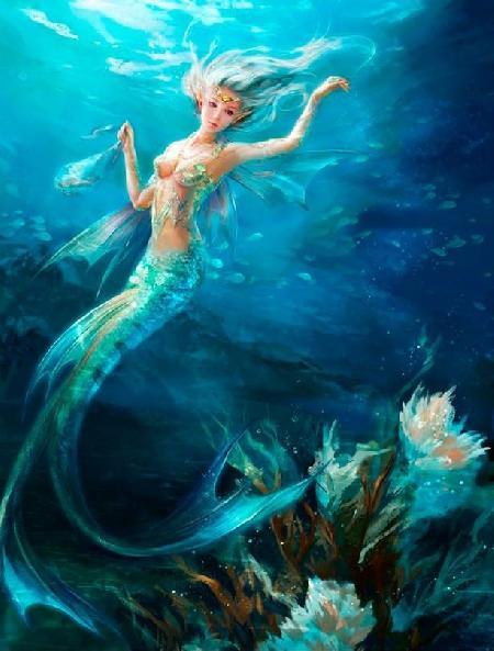Nàng tiên cá hai đuôi Melusine