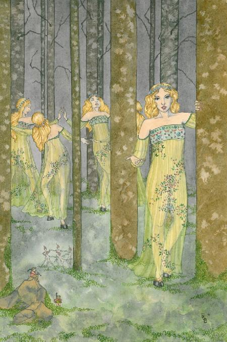 Nữ ma cà rồng Baobhan Sith