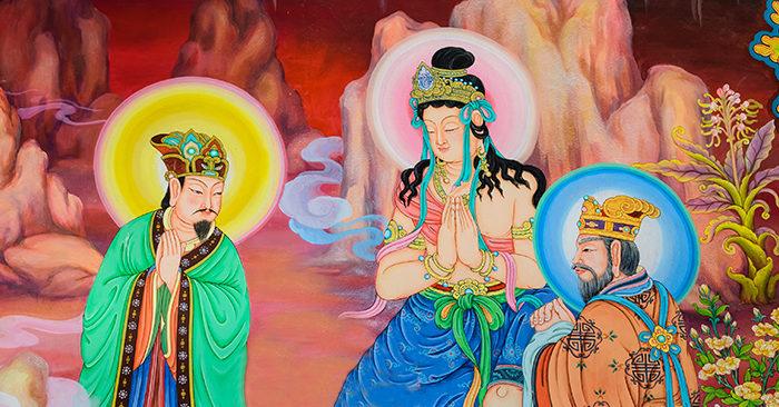 Ba vị thần tiên kỳ lạ nhất thời cổ đại