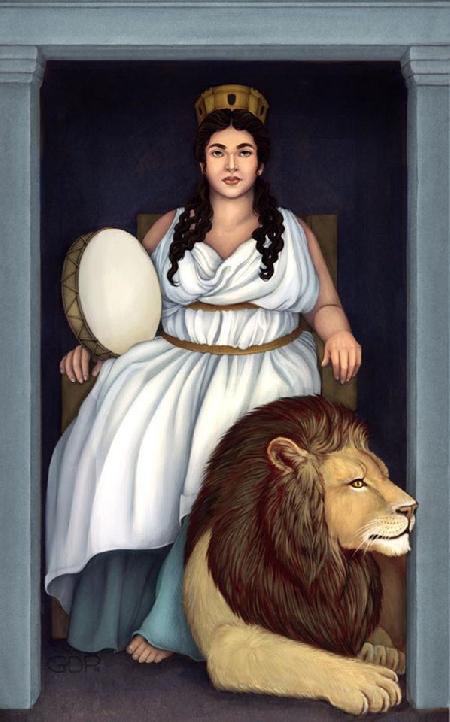 Cybele - câu chuyện dị nhất thần thoại Hy Lạp