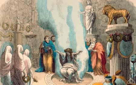 Pythia và những lời tiên tri nổi tiếng