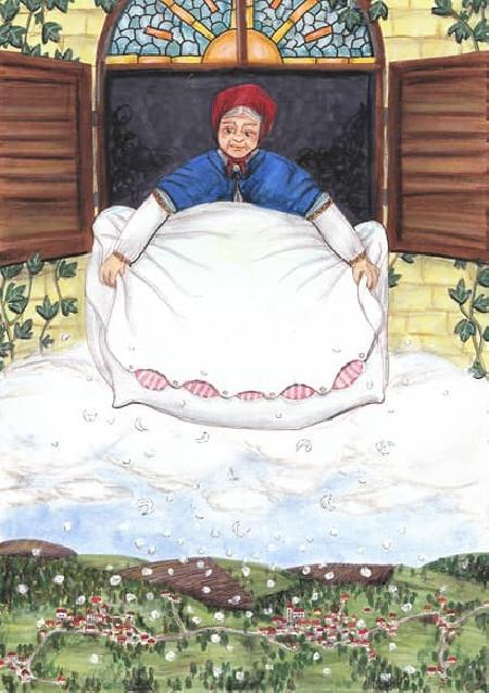 Frau Holle - Nữ thần Tuyết