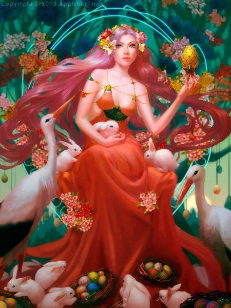 Nữ thần mùa xuân Ostara