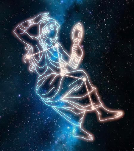 Cassiopeia - Chòm sao Thiên Hậu