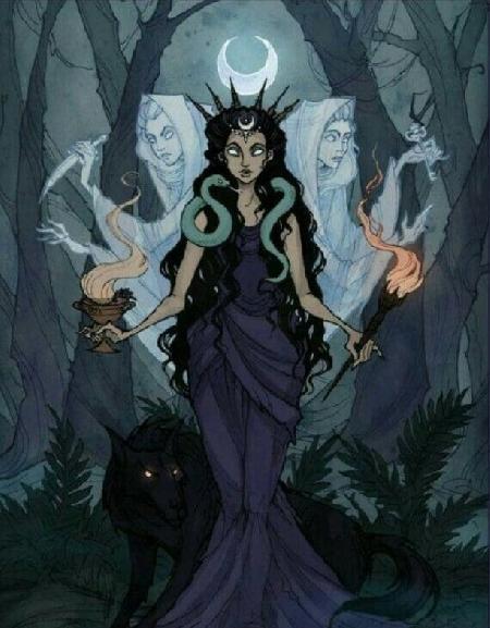Biểu tượng ngôi ba nữ thần - Triple Goddess
